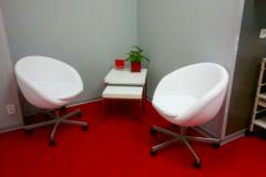 sezení ordinace